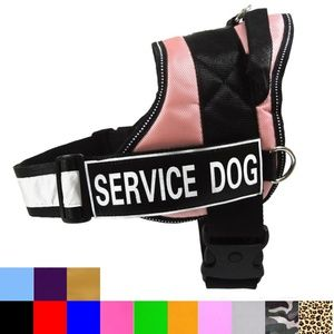 Service Dog Iron On Patches- TWO PATCHES TO CHOOSE